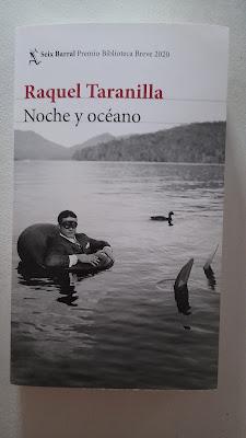 """Portada de """"Noche y océano"""", libro de Raquel Taranilla."""