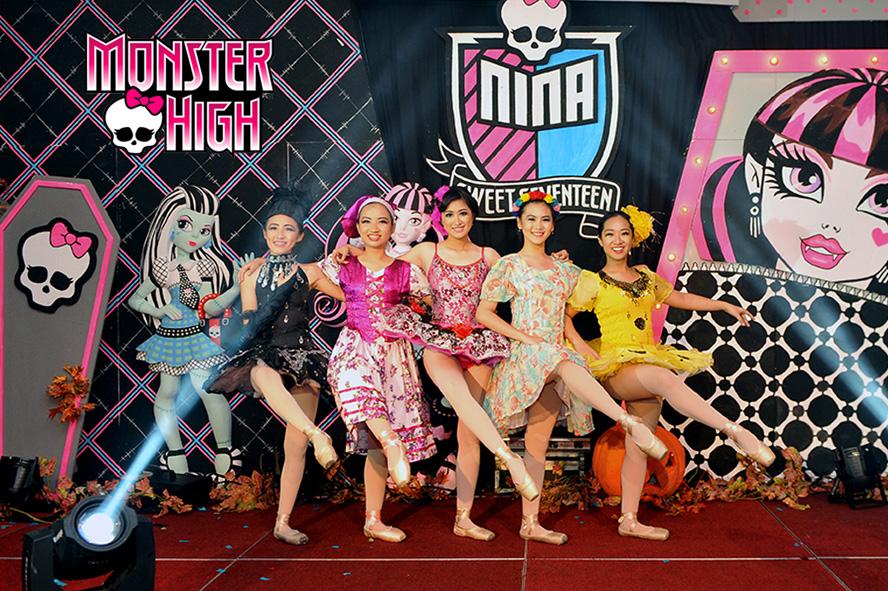 """Monster High"" - Nina's 17th by Jetset EO Surabaya"