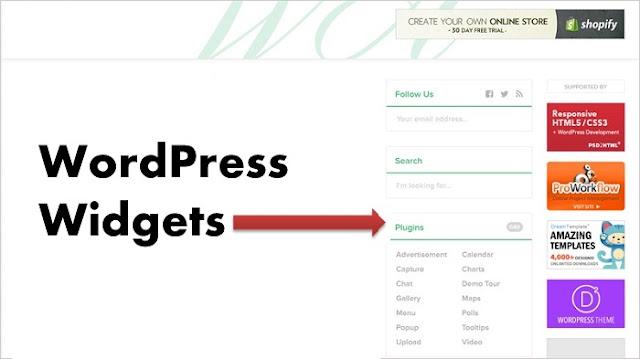 Widget là gì? Ứng dụng Widget vào WordPress sao cho hiệu quả?
