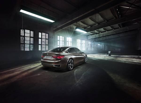 P90204805 lowRes BMW Concept Compact sedan ή μήπως σειρά 1 sedan;