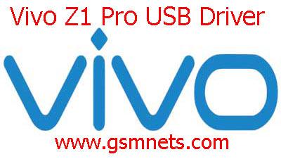 Vivo Z1 Pro USB Driver Download