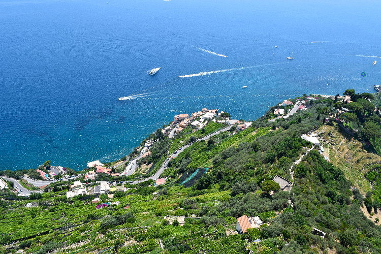 View From Ravello, Italy - Ms. Toody Goo Shoes