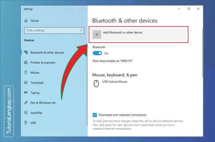 tutorialengkap 2 Cara Menghubungkan Smartphone Sebagai Perangkat Bluetooth Pada Windows 10