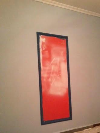 Espejo en la pared