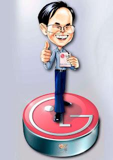 logotipo com mascote lg