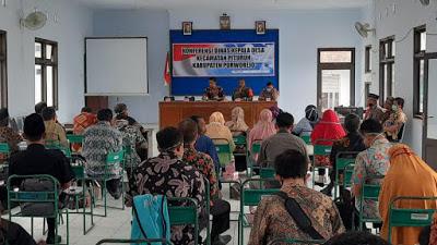Konferensi Dinas Kepala Desa Kecamatan Pituruh