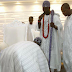"""When Power Meets Royalty"" - Obasanjo Prostrates For New Ooni Of Ife - See Photos"