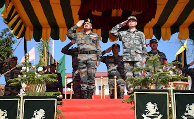 Closing Ceremony 8th edition of India China joint training exercise 'Hand-in-Hand-2019' held in Meghalaya