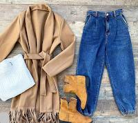 Vinci gratis Cappottino e Jeans a vita alta con LaFemme Chic