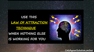 THE SECRET LAW OF ATTRACTION- SELF HELP