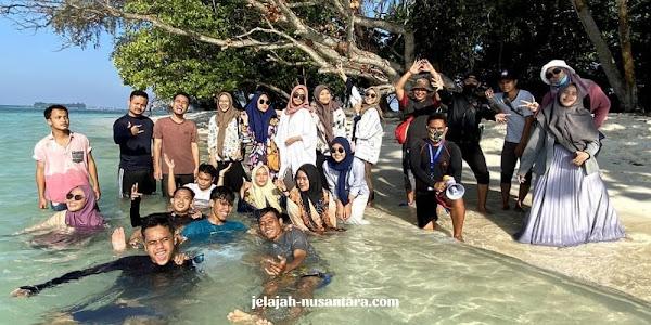 rencana perjalanan private trip pulau harapan