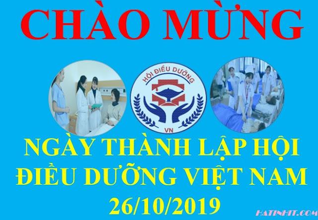 Ngày thành lập hội điều dưỡng Việt Nam 26-10