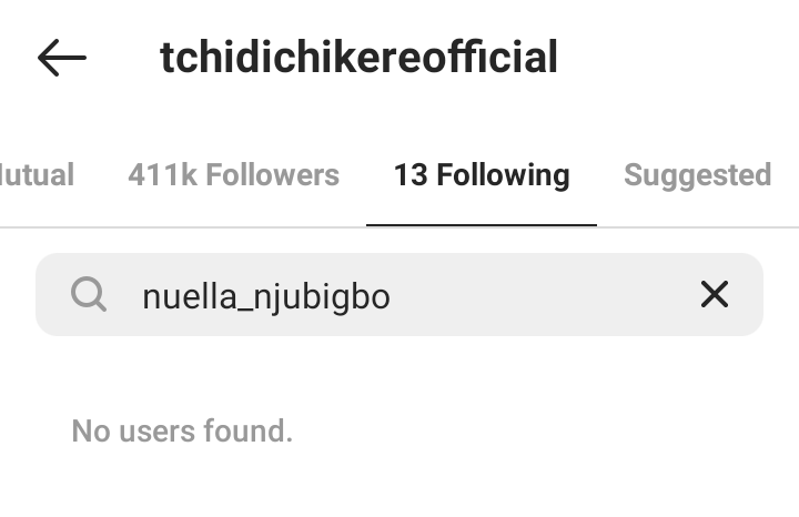 Nuella Njubigbo And Tchidi Chikere Unfollow Each Other. Sophie Williams Reacts