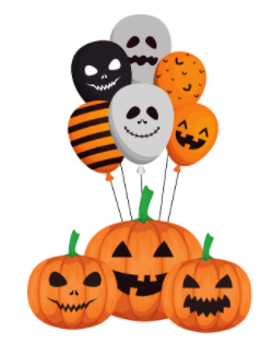 Halloween Pawty Balloons BionicBasil®