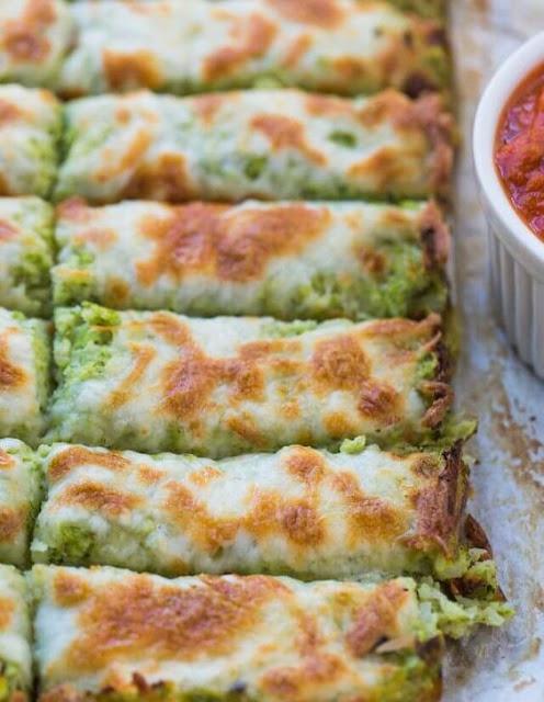 Broccoli Cauliflower Cheese Sticks