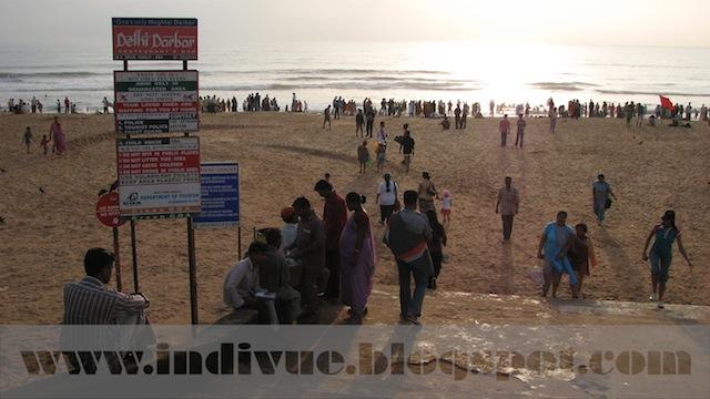 Calangute Beach, Goa, Intia