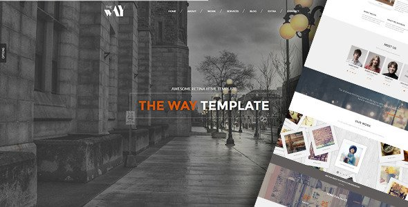 The-Way-Responsive-Retina-Ready-Template The Way – Responsive Retina Ready Template Templates