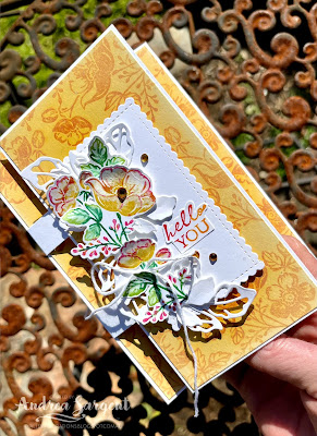 Happy Crushed Curry roses coming to say Hello and brighten your day, by Andrea Sargent, Valley Inspirations.