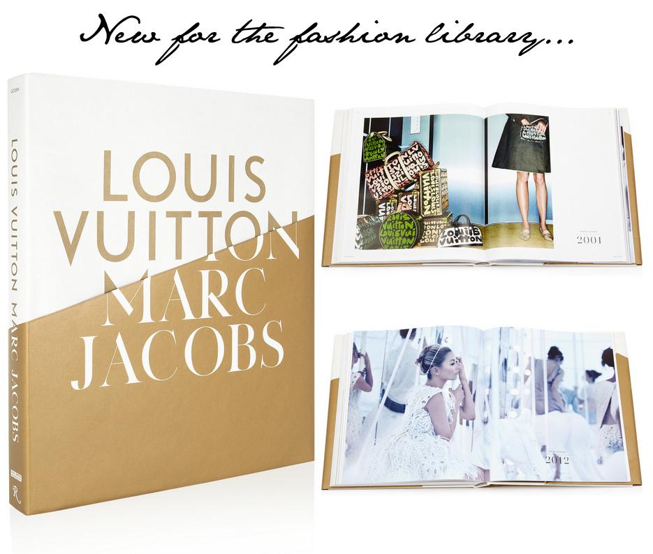 Fashion Library: Louis Vuitton Marc Jacobs Book - Fashion ...