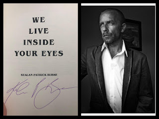 We Live Inside Your Eyes, signed by author Kealan Patrick Burke