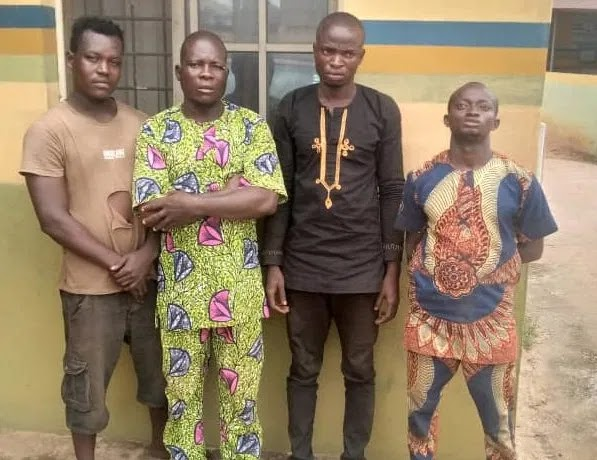 Four men arrested for beating police constable to death in Ogun