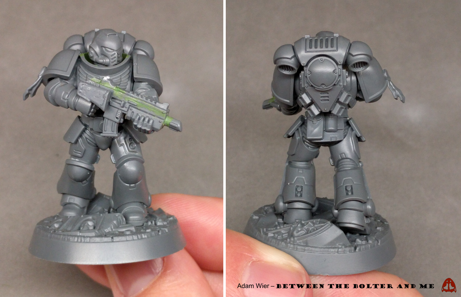 Between the Bolter and Me: Primaris Space Marines: First
