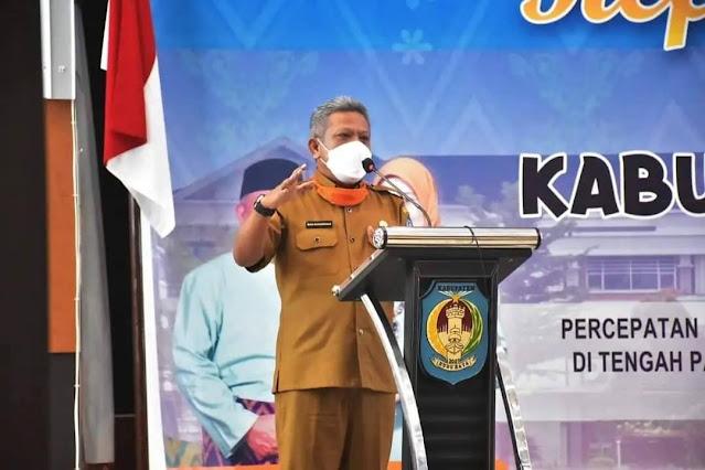 Bupati dan Wabup Kubu Raya hadiri Refleksi 14 Tahun Perjalanan Kabupaten Kubu Raya