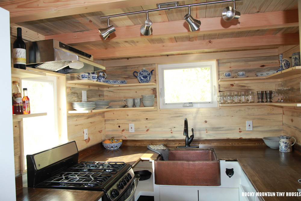 Tiny house town home from rocky mountain tiny homes for Rocky mountain home builders
