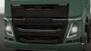 Volvo FH16 2013 grill paint by Volidas Athens Hellas
