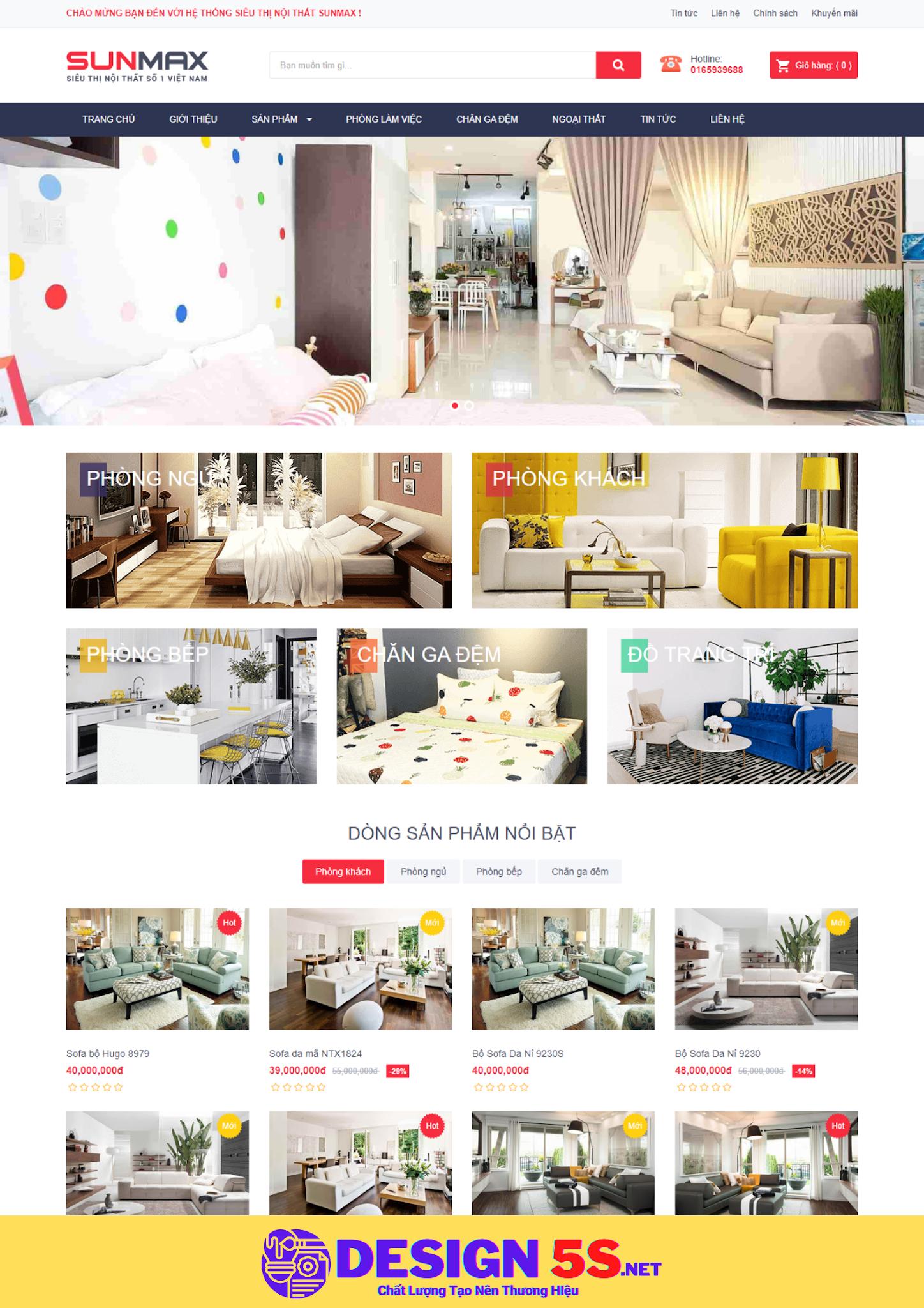 Theme blogspot bán hàng nội thất, VSM36 - Ảnh 1
