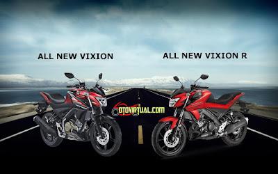 Vixion vs Vixion R