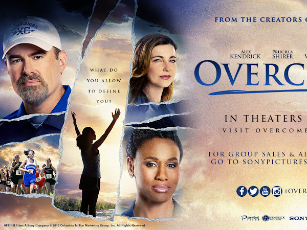 Overcomer in Theaters Friday, August 23! {+ Fandango Code FLASH Giveaway} #overcomermovie #Flyby
