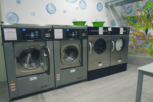 Lavandería autoservicio Adei