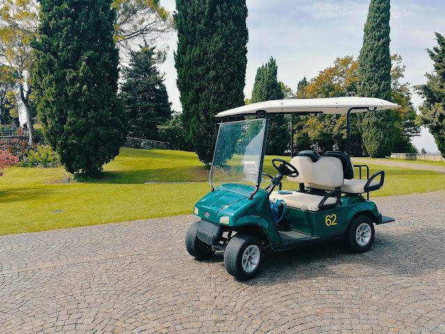 golf cart al parco sigurtà