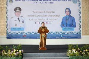 Gubernur Lampung Dorong Tim Penggerak PKK Lampung Wujudkan Tiga Program Prioritas