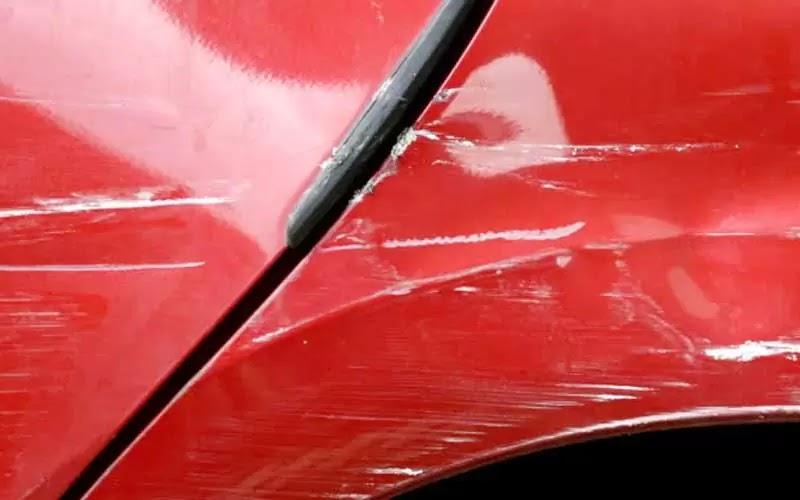Car Has Scratches