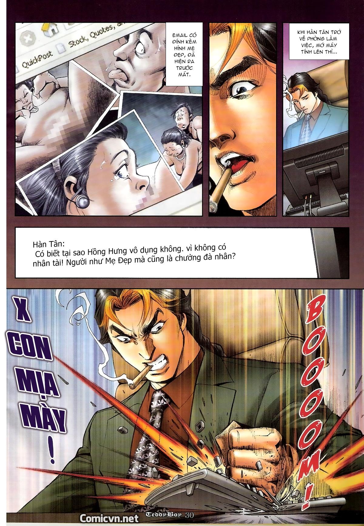 Người Trong Giang Hồ - Chapter 1262: Tưởng Thiên Sinh và Mẹ Đẹp - Pic 27