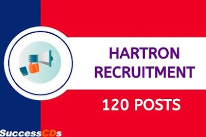 HARTRON Recruitment 2020 : हरियाणा राज्य इलेक्ट्रॉनिक्स विकास निगम लिमिटेड 2020 भर्ती