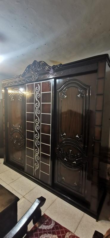 غرفة نوم مستعملة 3 ضلفة جرار فيرنتشر ستورز المطرية 6