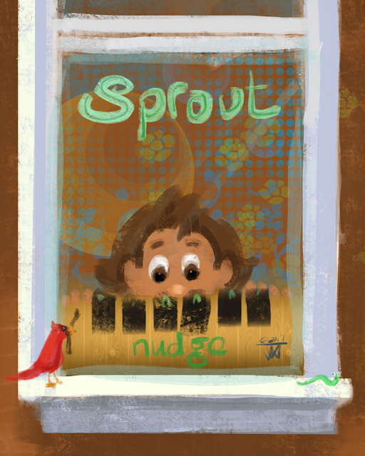 Sprout Artwork by Traci Van Wagoner