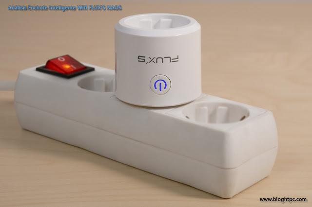 Enchufe Inteligente Wifi FLUX´S NAOS