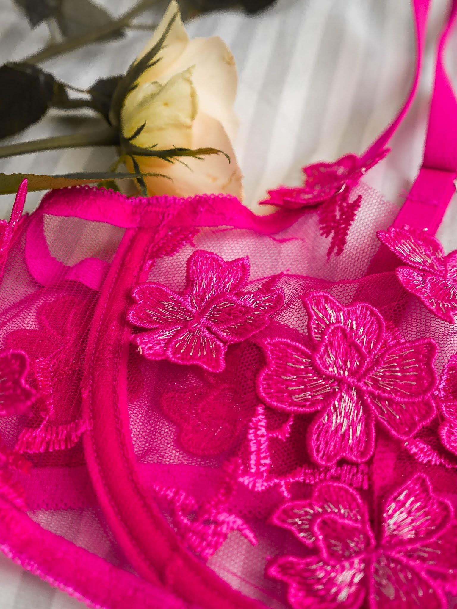 Růžové spodní prádlo SHEIN