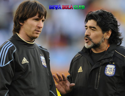 Kekalahan Diego Maradona