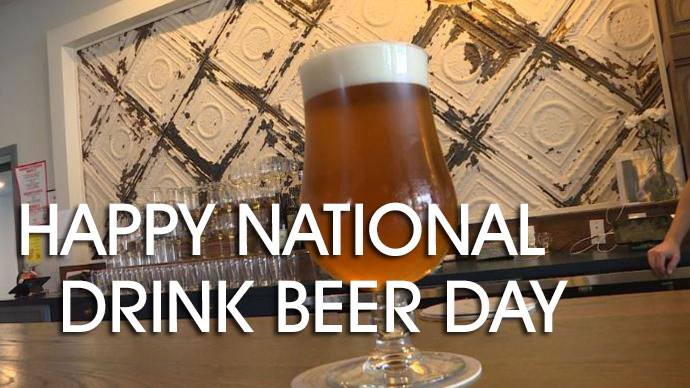 National Drink Beer Day Wishes Awesome Picture