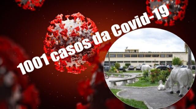 Itapetinga ultrapassa 1.000 casos da covid com 50 pessoas infectadas em 24hs