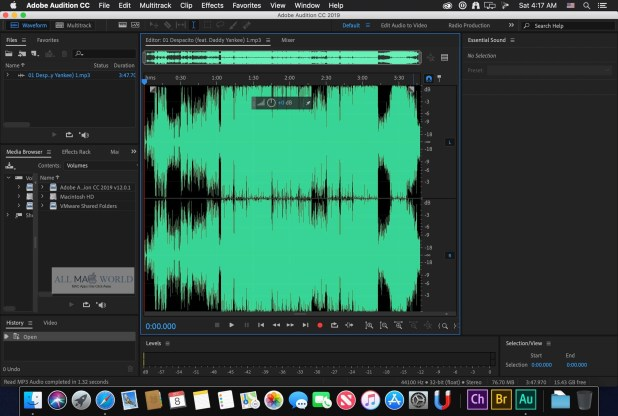 Adobe Audition CC 2019  for Mac Full Version
