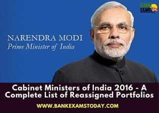 New Cabinet Ministers Of India Pdf