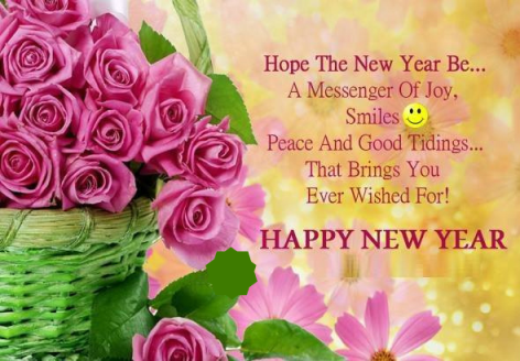 New Year Message for Friends and Family