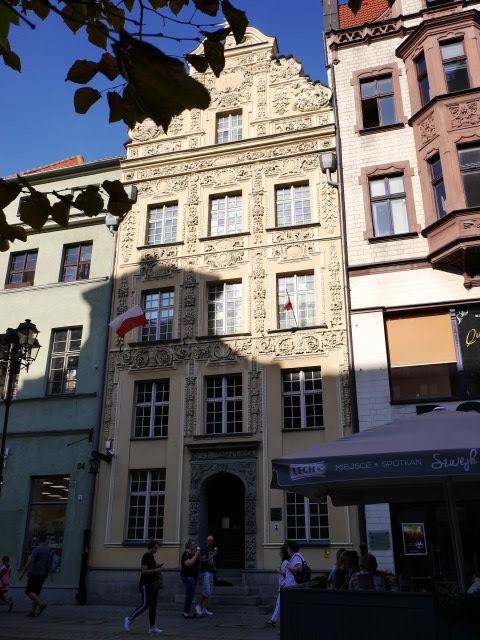 Huis met de Ster op de Markt in Torun, Polen