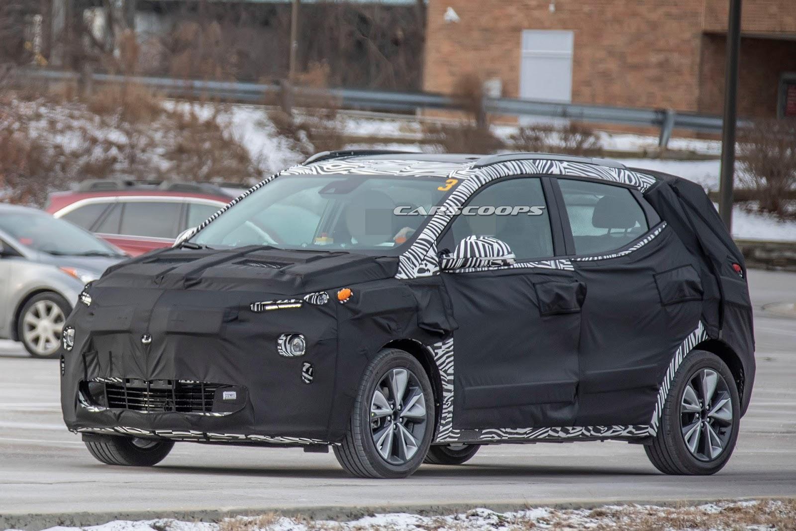 2022 Chevrolet Bolt Euv Spy Shot Ms Blog